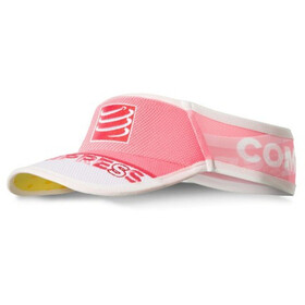 Compressport UltraLight Visière, fluo pink